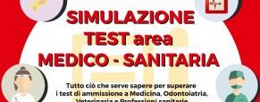 Simulazione dei test di ammissione universitari per l'area medico-sanitaria