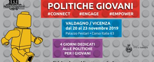 Politiche Giovani 2019, a Valdagno 4 giorni dedicati al futuro delle giovani generazioni