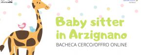 Baby sitter in Arzignano: la nostra nuova bacheca online!