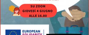 Corpo Europeo di Solidarietà: parliamone!