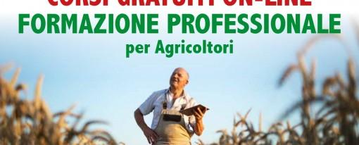 CORSI GRATUITI ON-LINE FORMAZIONE PROFESSIONALE  per Agricoltori