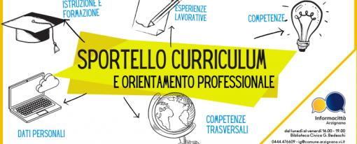 Sportello Curriculum e Orientamento professionale