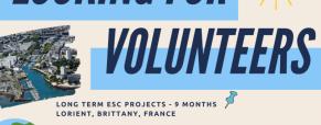 VOLONTARIATO – ESC IN FRANCIA: NELLE SCUOLE E NEI SERVIZI PER I GIOVANI