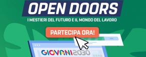 OPEN DOORS: IL FUTURO PASSA DA CIO' CHE DECIDI DI FARE OGGI!